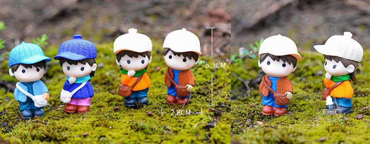 Couple 03 - Phụ Kiện Terrarium - 9X GARDEN