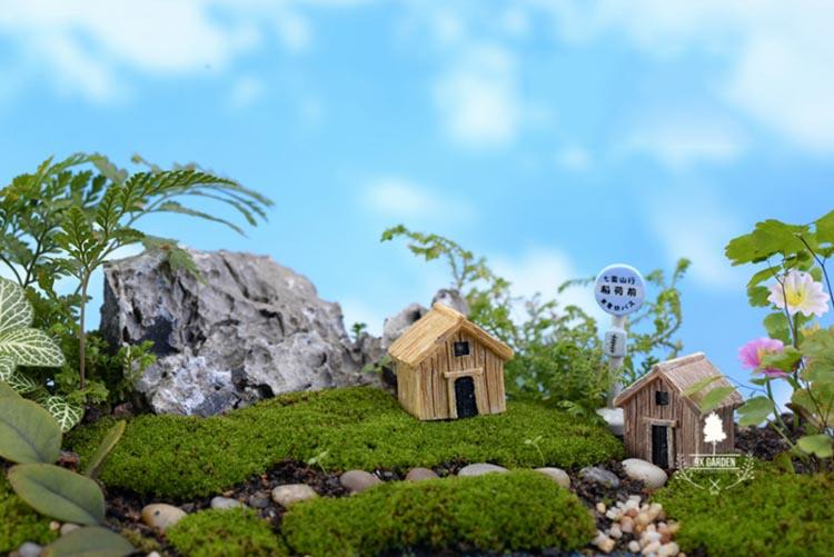 Nhà Gỗ - Phụ Kiện Terrarium - 9X GARDEN