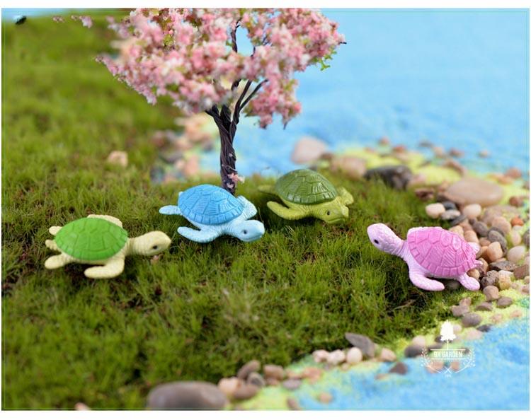 Rùa Biển - Phụ Kiện Terrarium - 9X GARDEN